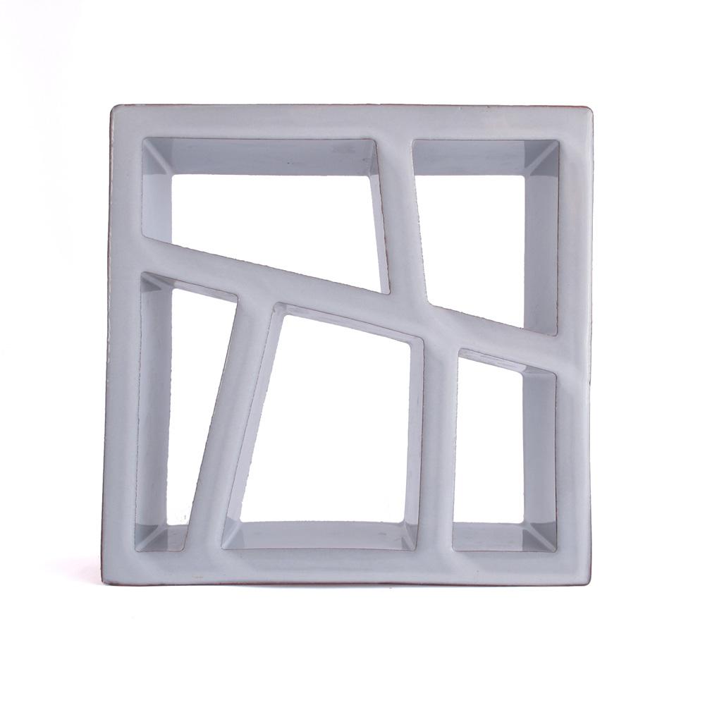 Celosía cerámica gris CLS 003