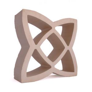 Celosía cerámica natural arena