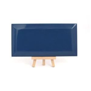 Azulejo tipo metro azul marino CCM 001