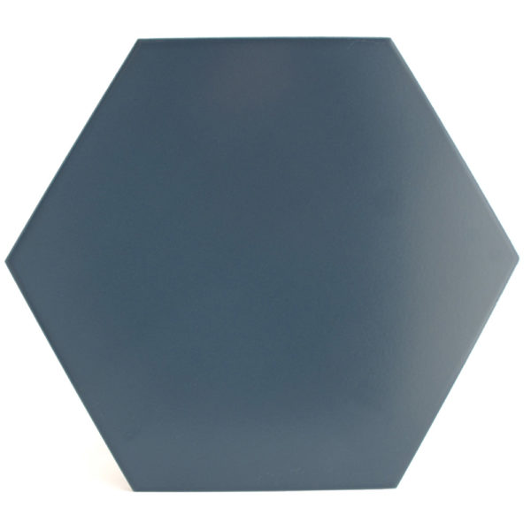 Hexágono cerámico azul HC29 005