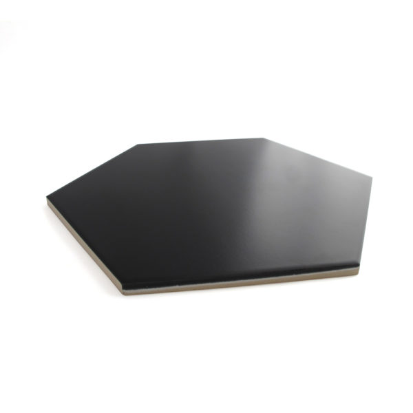 Hexágono cerámico negro HC29 004