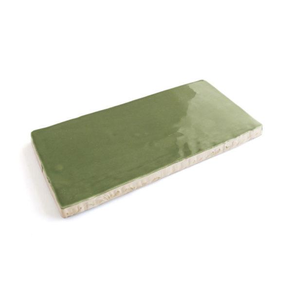 Cerámica artesanal verde