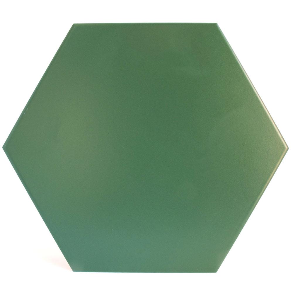 Hexágono cerámico verde HC29 006