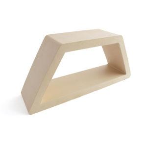 Celosía cerámica hexagonal natural arena CLS 004