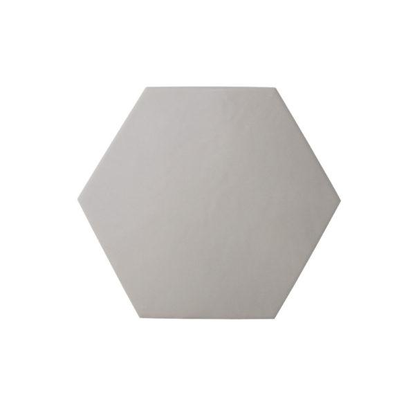 Hexágono cerámico gris mate HC17 002
