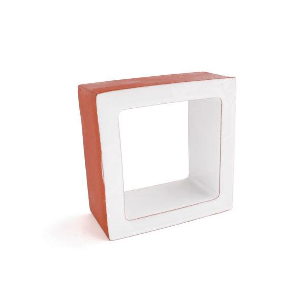 Celosía cerámica blanca CLS 011