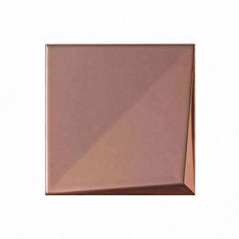 Metalizado cerámico ALEA bronce mate relieve A MCA 008