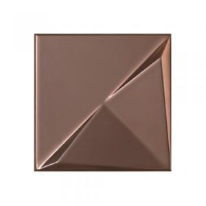 Metalizado cerámico ALEA bronce brillo relieve B MCA 018