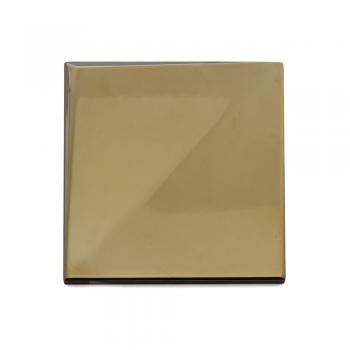 Metalizado cerámico ALEA dorado brillo relieve A MCA 011
