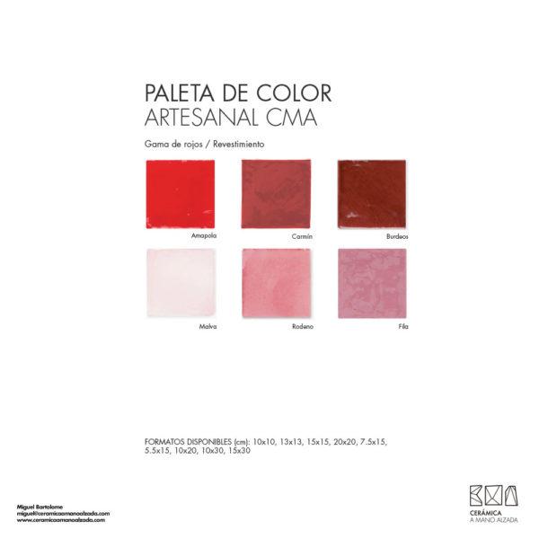 Ceramica-artesanal-paleta-de-color-Artesanal-rojo-CMA-7.5x15-ceramica-a-mano-alzada