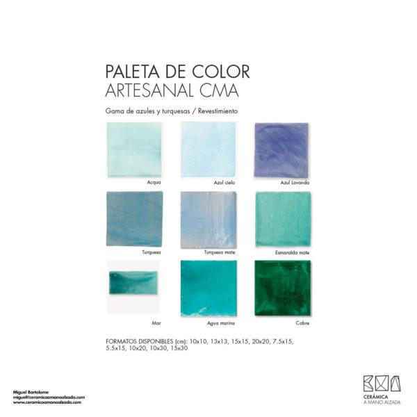 Ceramica-artesanal-paleta-de-color-Artesanal-turquesas-CMA-7.5x15-ceramica-a-mano-alzada