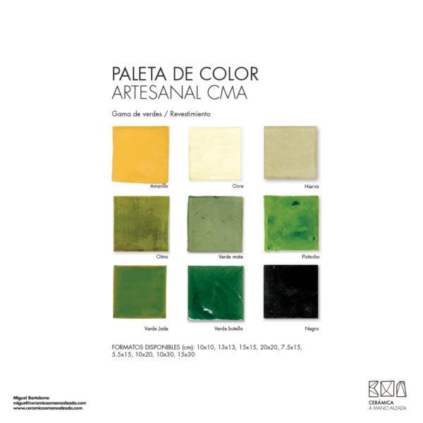 Ceramica-artesanal-paleta-de-color-Artesanal-verde-CMA-7.5x15-ceramica-a-mano-alzada