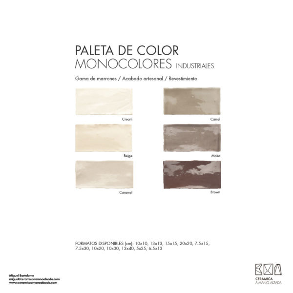 Ceramica-artesanal-paleta-de-color-industrial-marrones-CMA-7.5x15-ceramica-a-mano-alzada