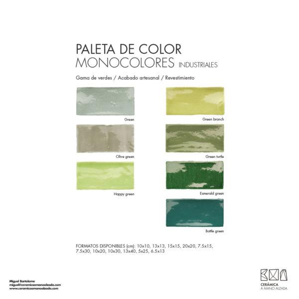 Ceramica-artesanal-paleta-de-color-industrial-verdes-CMA-7.5x15-ceramica-a-mano-alzada