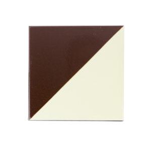 baldosa-ceramica-cartabón-marron-oscuro-blanca-BLC-008-15x15-ceramica-a-mano-alzada