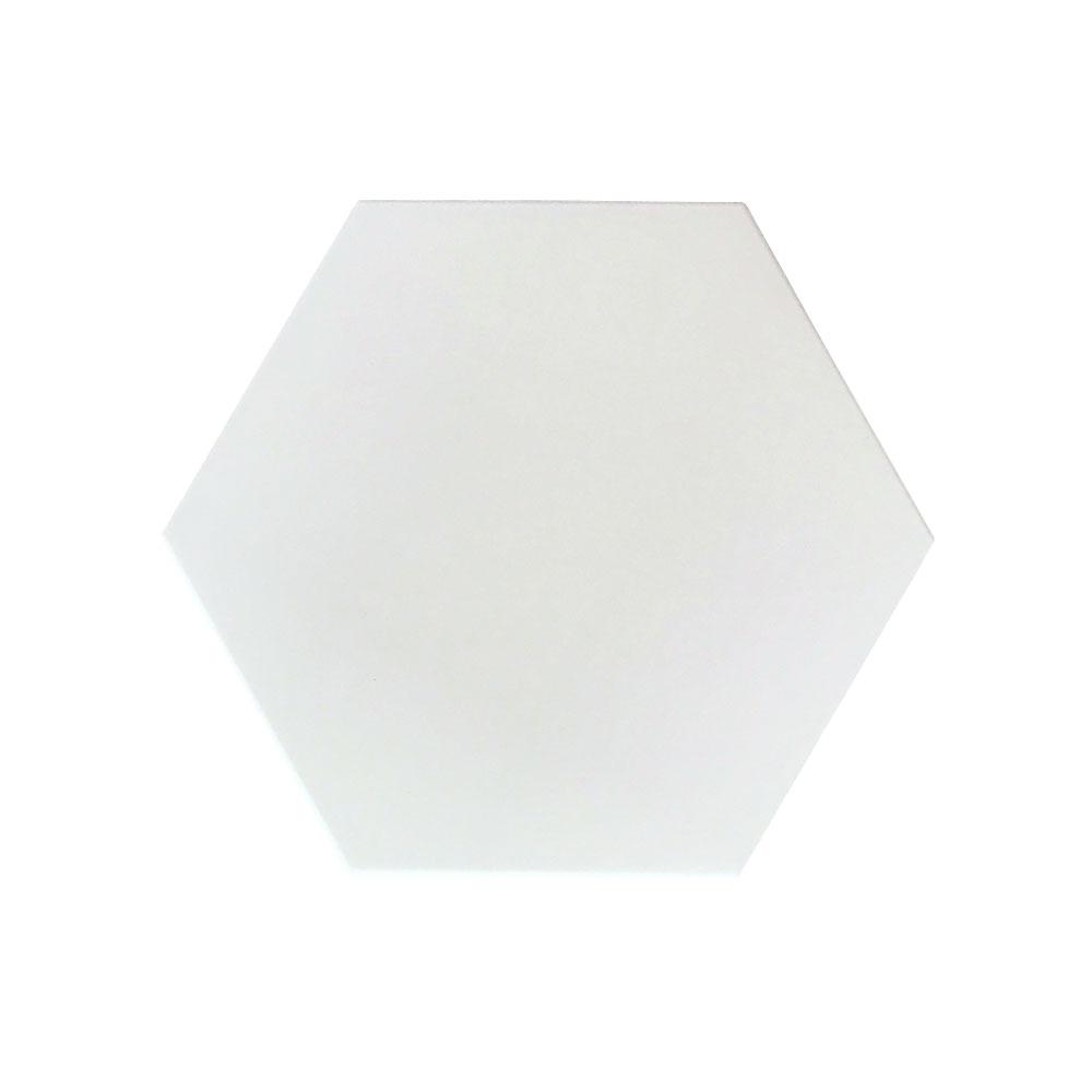 Hexagono-ceramico-blanco-mate-20x23-HC20-R10-C3-ceramica-a-mano-alzada