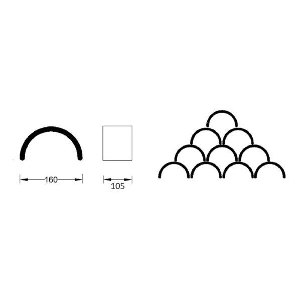 Celosia-ceramica-curva-CLS-005-16x10x8.5-colocacion-ceramica-a-mano-alzada