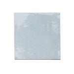 Zellige ceramico azul frontal ceramica a mano alzada