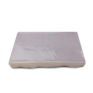 Zellige ceramico gris detalle ceramica a mano alzada