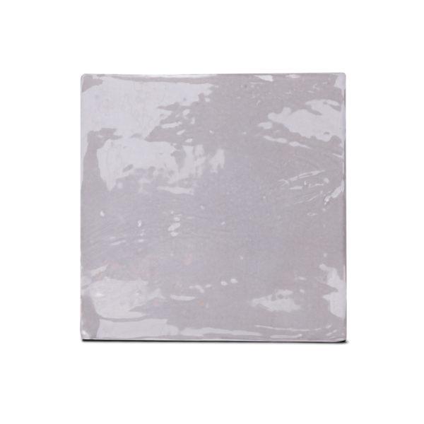 Zellige ceramico gris frontal ceramica a mano alzada