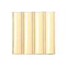 Relieve ceramico escocia amarillo frontal RCE 20x20 ceramica a mano alzada