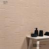 Relieve ceramico lineas suave arena revestimiento ceramica a mano alzada