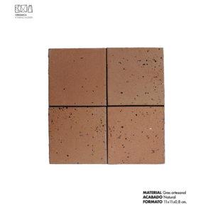 Revestimiento-gres-artesanal-marron-01-PGA-011-11x11x0.8-cm-ceramica-a-mano-alzada